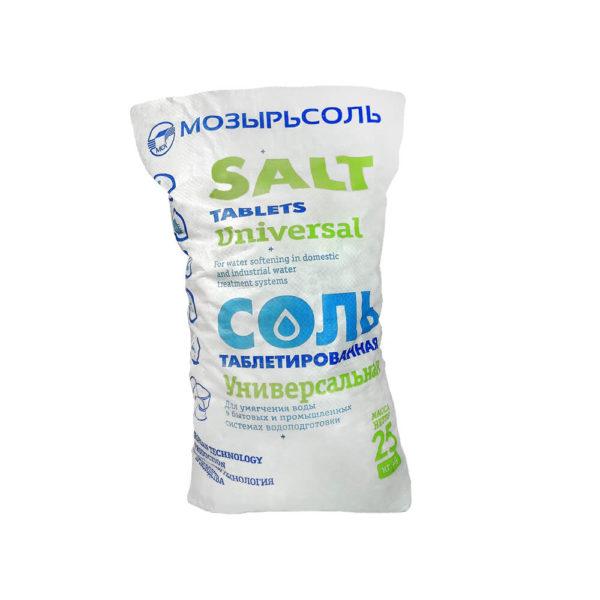 Соль таблетированная белорусская Мозырьсоль фото