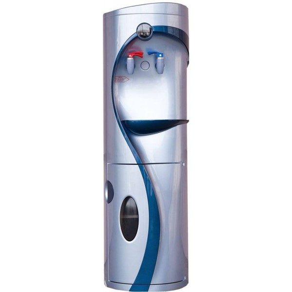 Кулер для воды QiDi YLR2-5-V760CW со шкафчиком напольный фото
