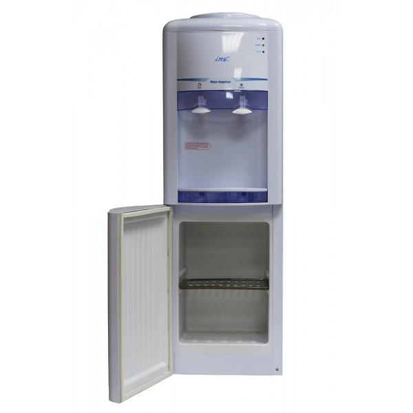 Кулер для воды Lanb LB-LWB 1,5-5X16 White со шкафчиком в нижней части фото