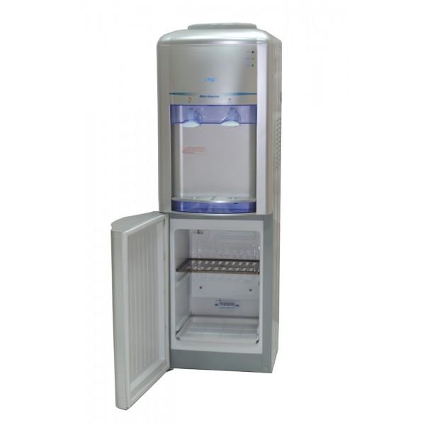 Кулер для воды Lanb LB-LWB 1,5-5X16 silver со шкафчиком в нижней части фото