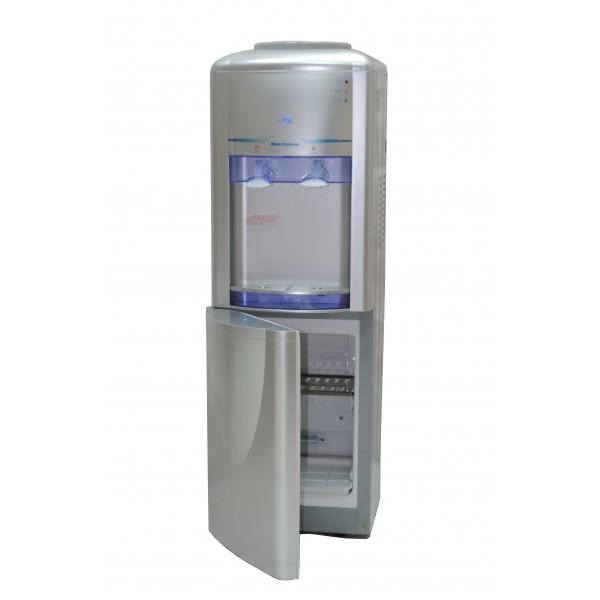Кулер для воды Lanb LB-LWB 0,5-5X16 серебристый напольный фото