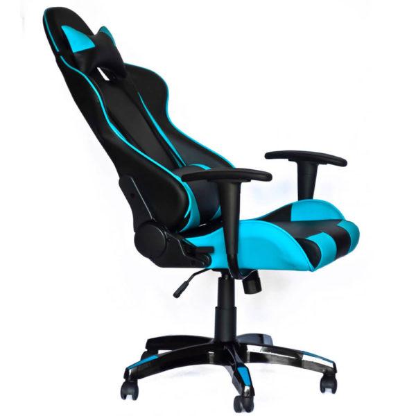 Офисное кресло Торнадо геймерское, вид сбоку, фото