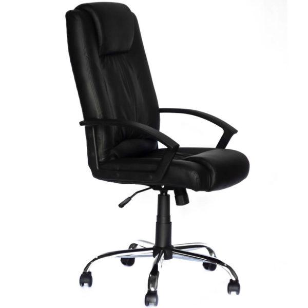 Офисное кресло Успех компьютерное черное, фото