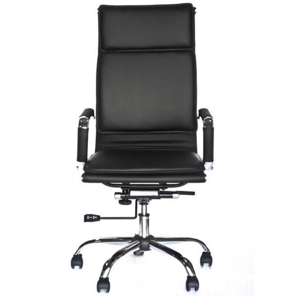 Офисное кресло для руководителя Классик черное фото