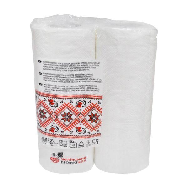 Бумажные полотенца Обухівський рушник, фото