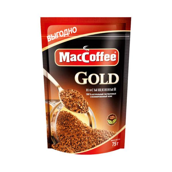 Кофе растворимый MacCoffee Gold 75 г, фото