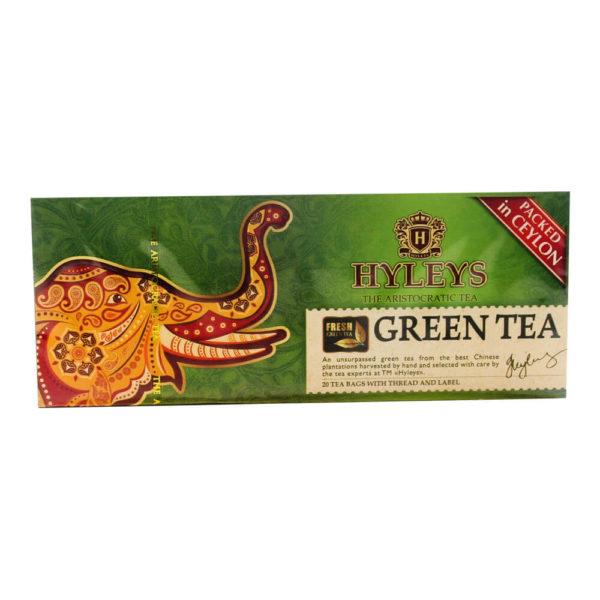 Зеленый чай HYLEYS 20 пакетиков по 1,5 г