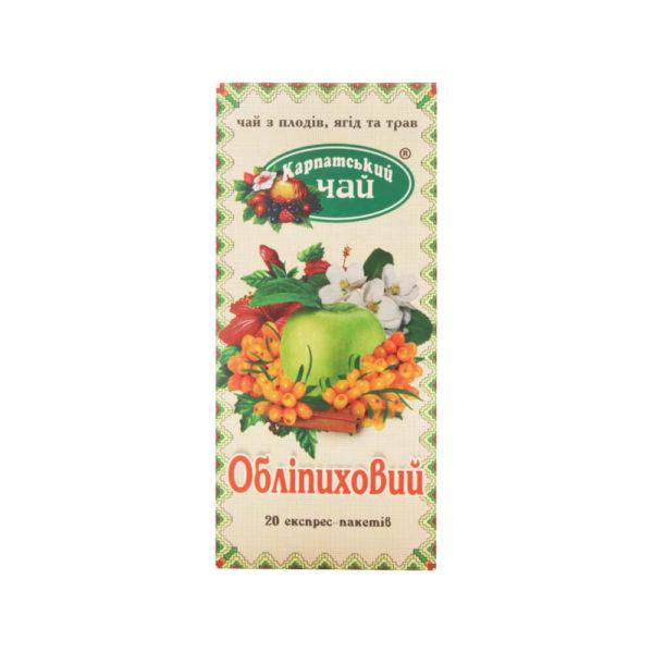 Карпатский чай Облепиховый 20 пакетиков без нитки