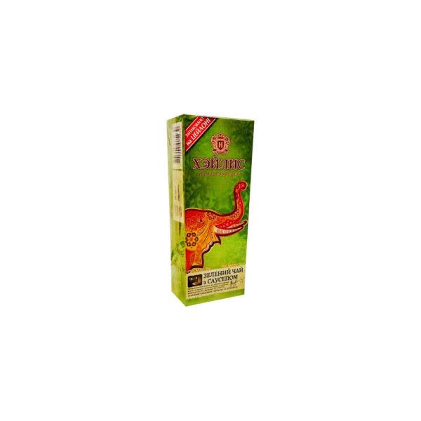 Зеленый чай с саусепом Hyleys 20 пакетиков по 1,5 г