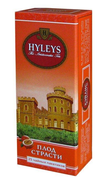 Чай черный Плод страсти HYLEYS 25 пакетиков с ароматом маракуйи