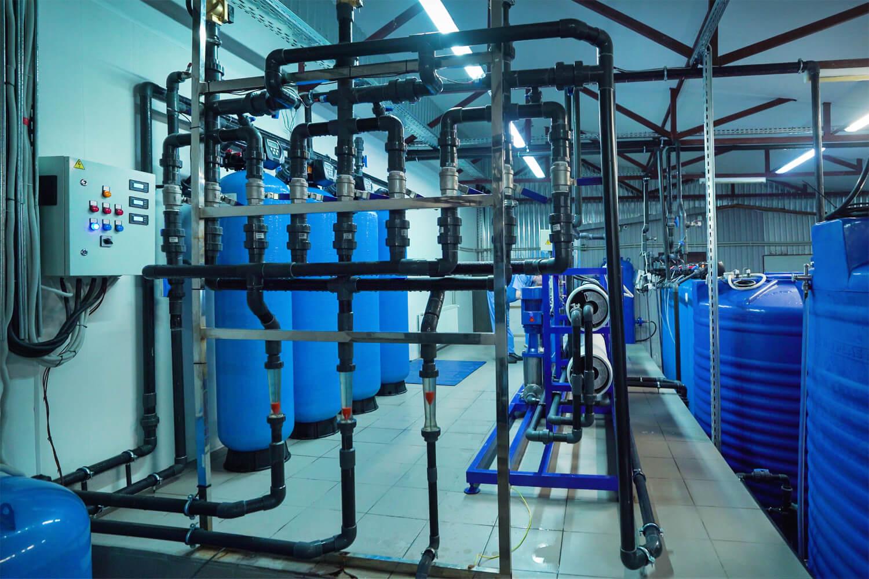 Цех подготовки артезианской воды